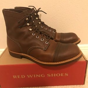 Red Wing Iron Ranger 8111 Amber Harness (10D)